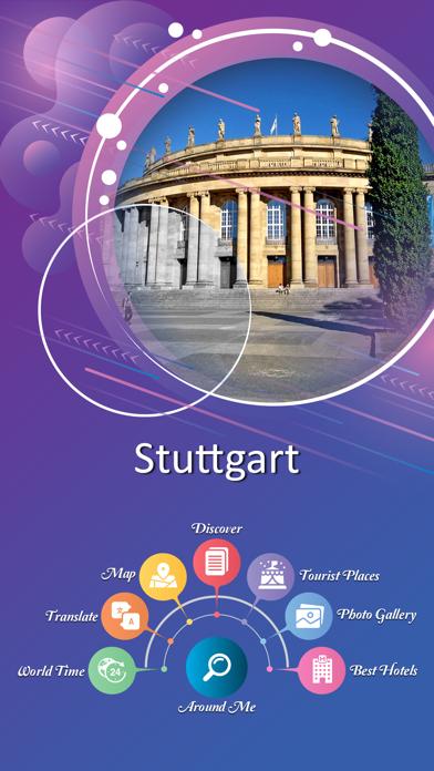 Stuttgart City Guide screenshot 2