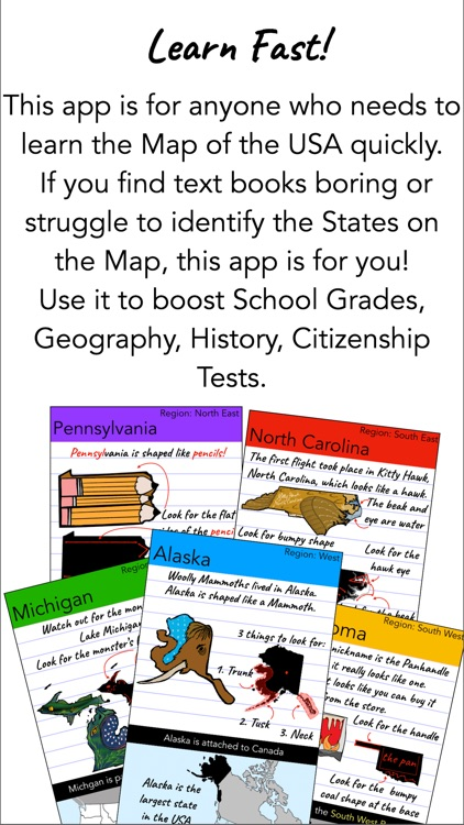 Learn USA Map