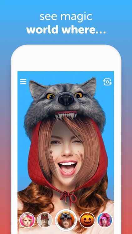Selfish - Funny Face Masks screenshot-0