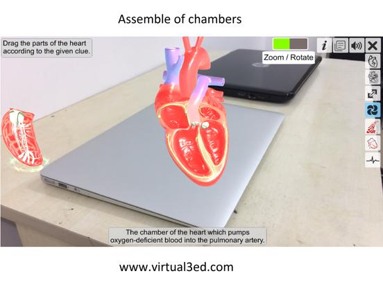 AR Heart - An incredible pump screenshot 9