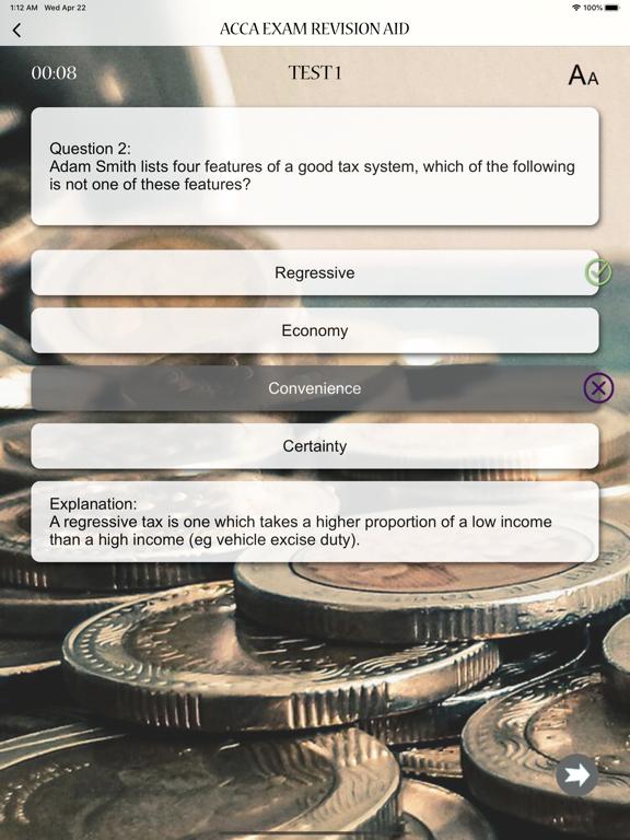 ACCA Exam Revision Aid screenshot 16