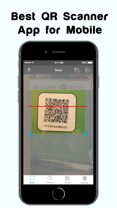 QR Code Reader & QR Scanner. screenshot one