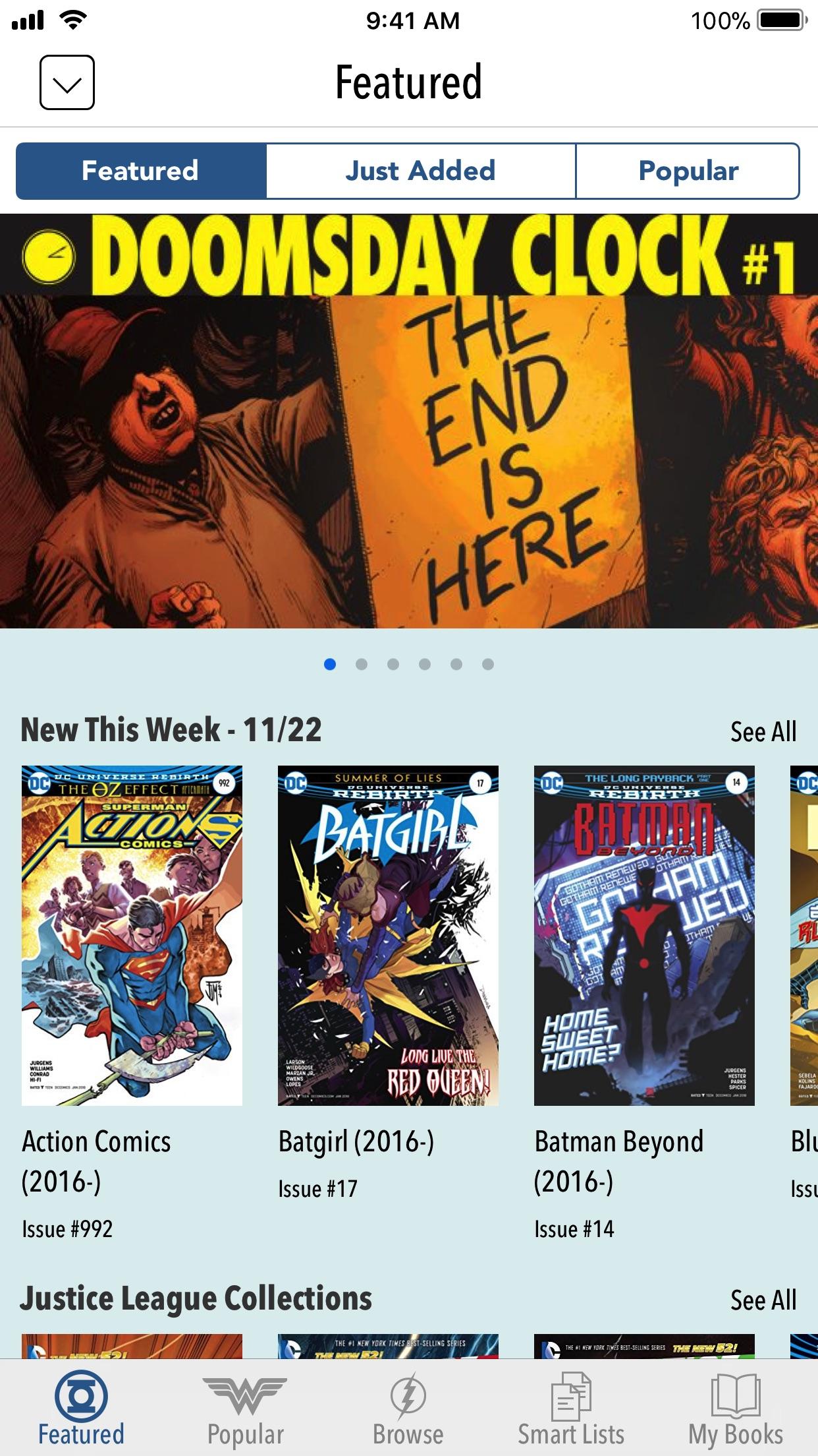 DC Comics Screenshot