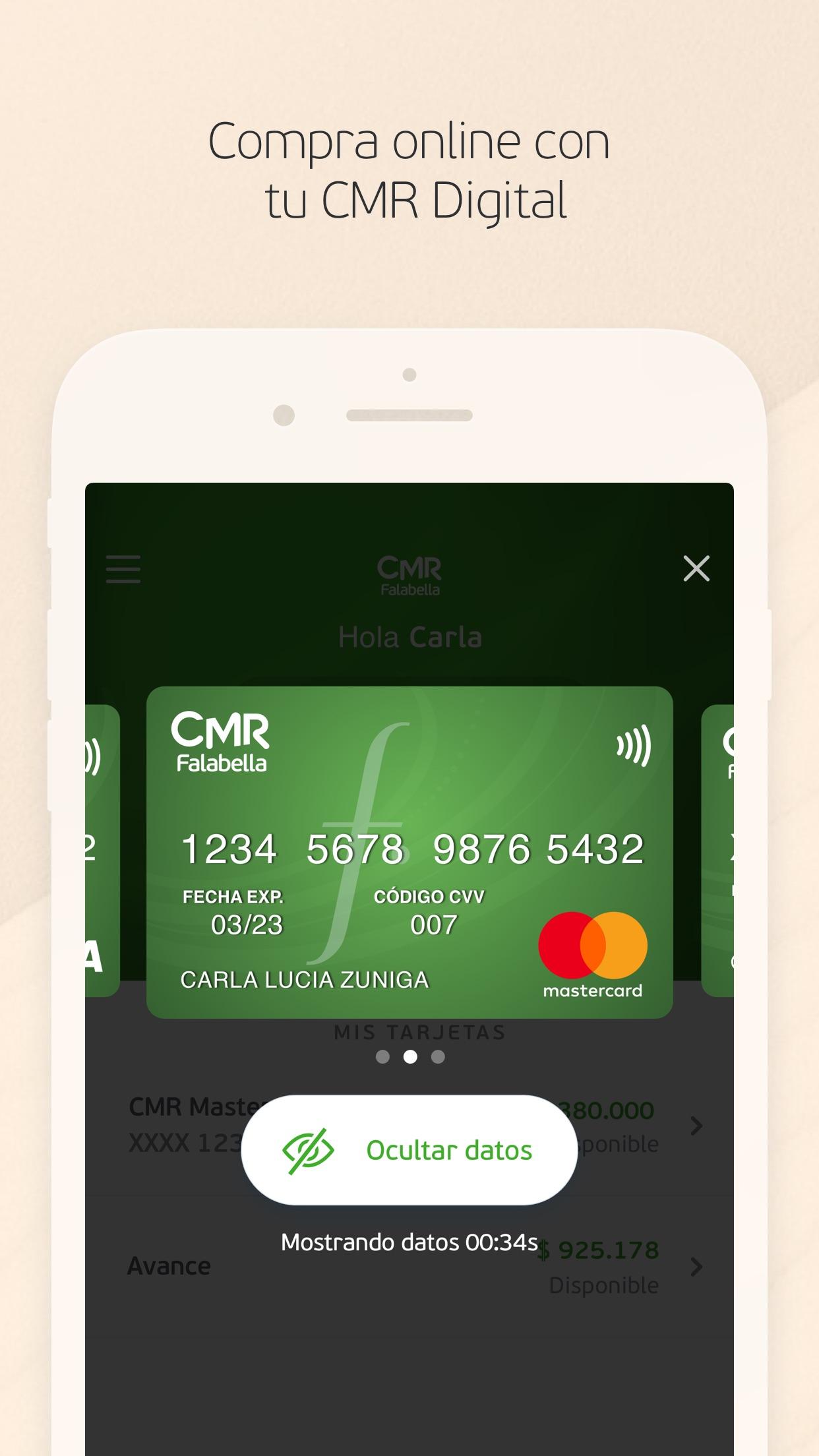 CMR Falabella Chile Screenshot