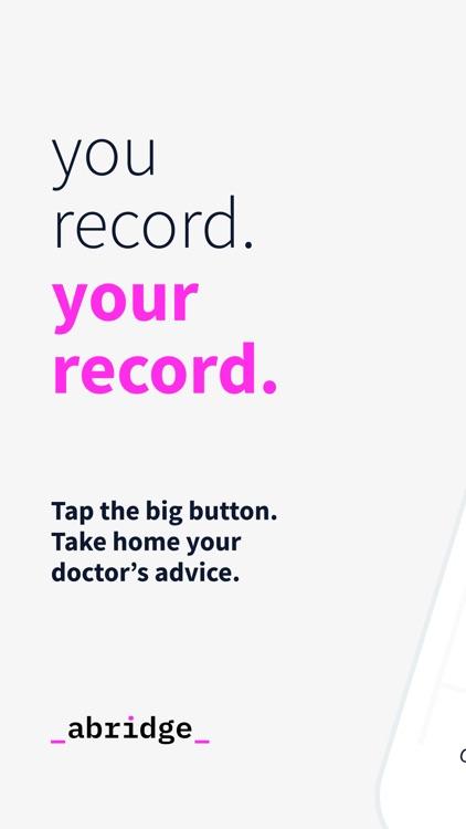 Abridge: Record Doctor Visits