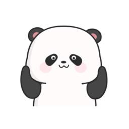 Chubby Panda Animated Stickers