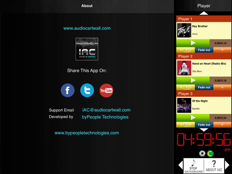 Audio Cartwall Studio for iPad screenshot-4