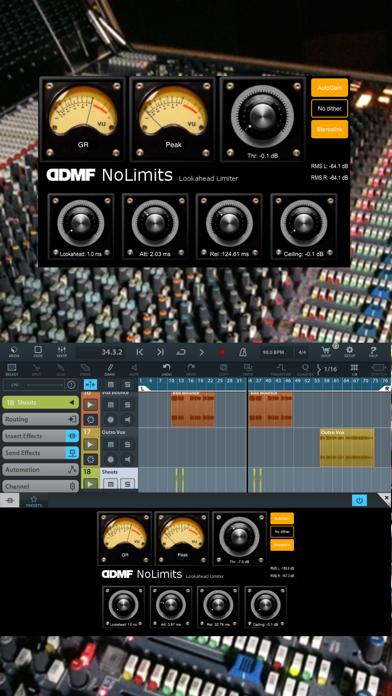 NoLimits AU Limiter by DDMF screenshot 1