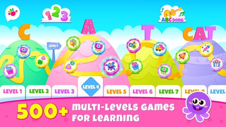 Games for Kids Read ABC Letter screenshot-0