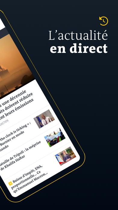 Le Monde, Actualités en direct screenshot two