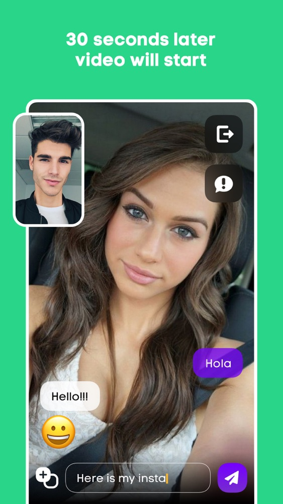 Hola - Random Video Chat App for iPhone - Free Download Hola
