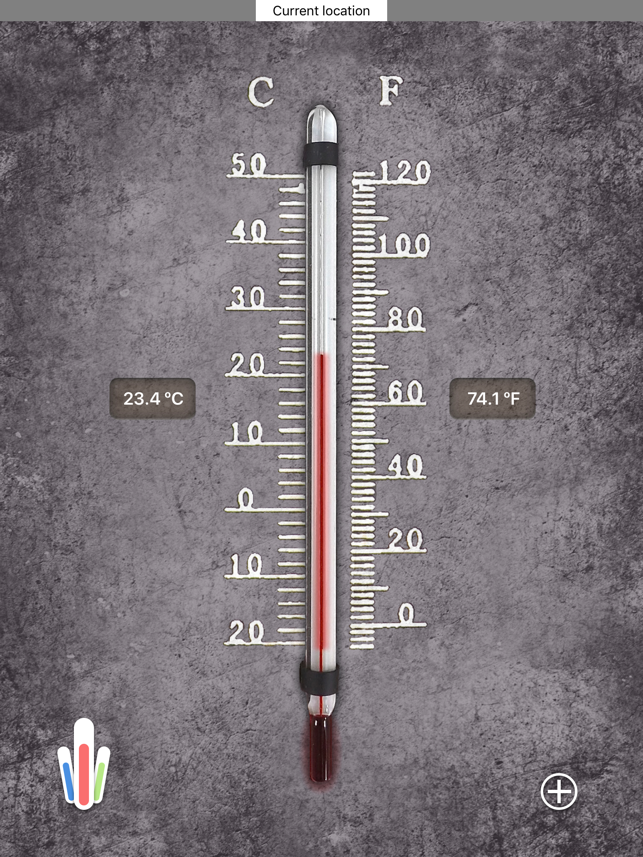 ‎HD Thermometer ⊎ Screenshot