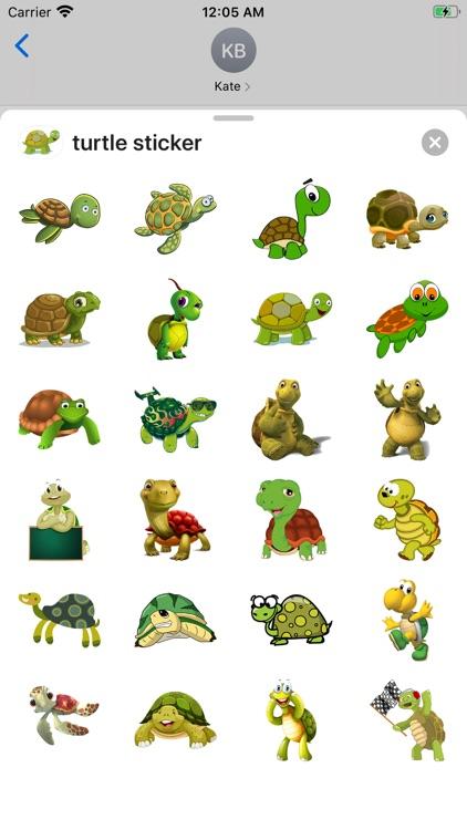 turtle sticker screenshot-3