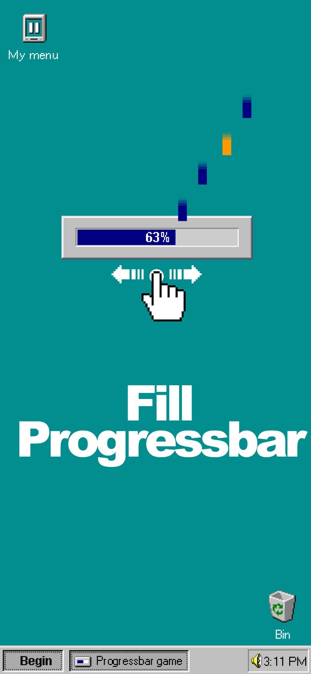 ProgressBar95 - retro arcade hack tool