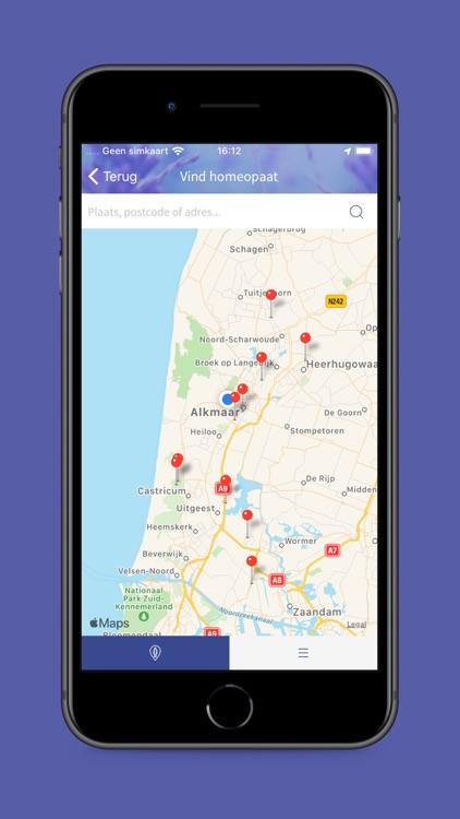 Homeopathiewijzer app screenshot-4
