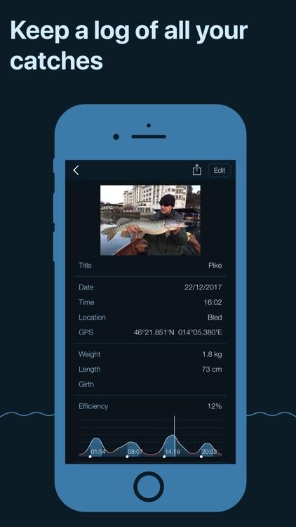 Fishing Calendar Pro screenshot-3