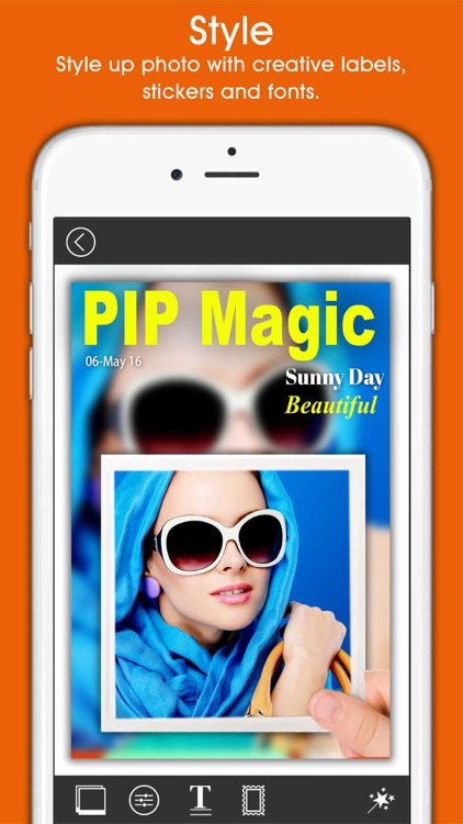 PIP Magic - Selfie Camera App