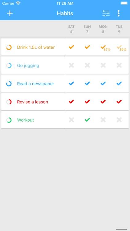 Habit Tracker - Your Goals