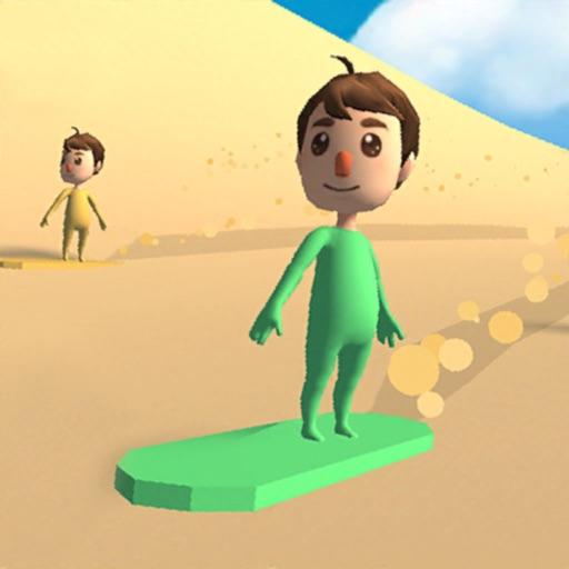 Sand Surfing 3D