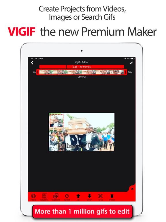 GIF Editor - Vigif screenshot 4