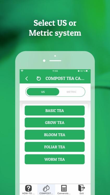 Compost Tea Calculator screenshot-0