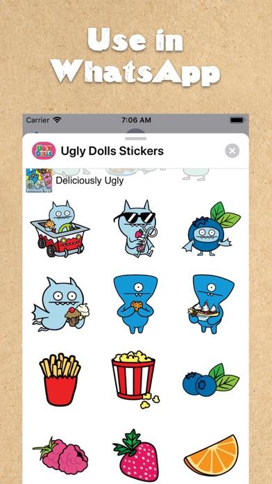 UglyDolls Stickersのおすすめ画像4