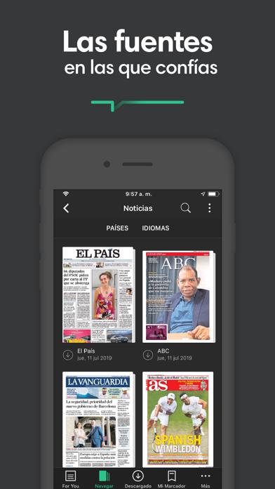 Screenshot for PressReader in Mexico App Store
