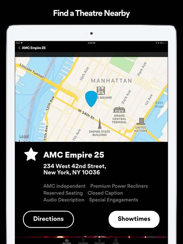 Amc Theatres Movies More On The App Store