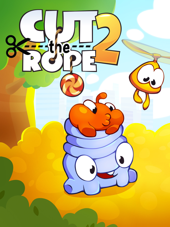 Cut the Rope 2: Om Nom's Quest - Screenshot 1