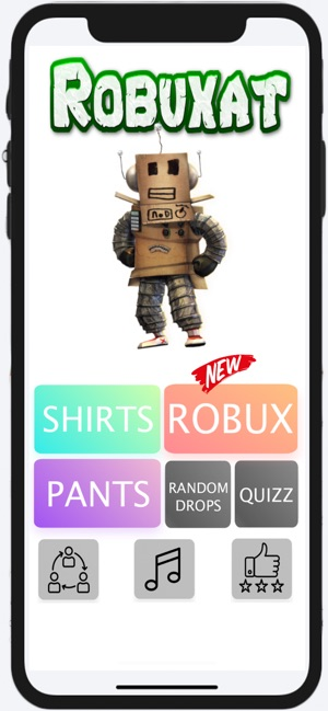 Robux For Roblox - Robuxat on the App Store