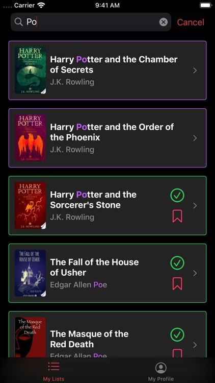 Must Read – The Book Tracker screenshot-3