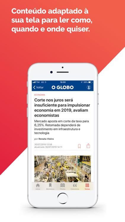Globo Mais screenshot-4