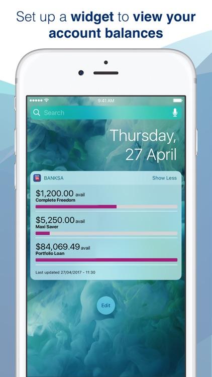 BankSA Mobile Banking screenshot-4