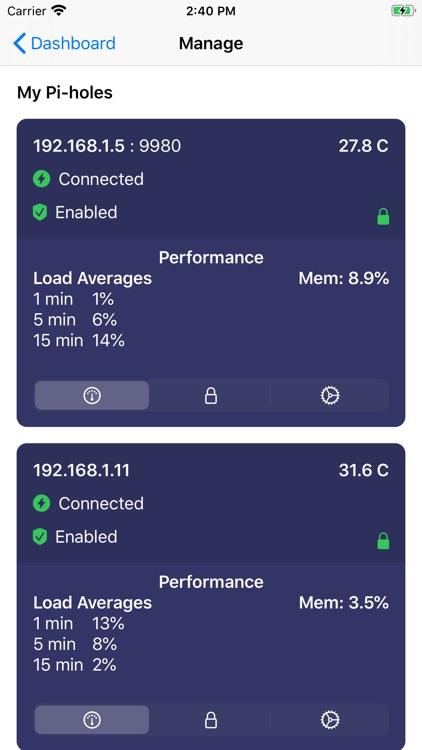 Singularity (Pi-hole Manager) screenshot-3