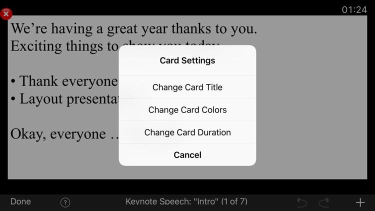 Cue Cards screenshot-3