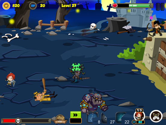 Fortress Defense HD screenshot 2