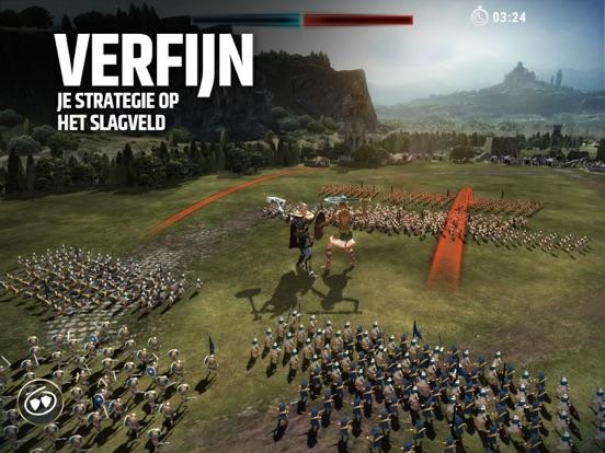 Dawn of Titans: vechtstrategie iPad app afbeelding 1