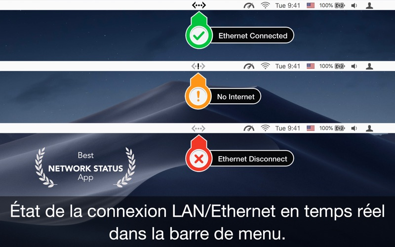 Screenshot État Ethernet