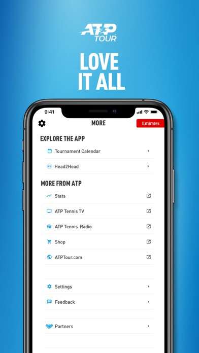 messages.download ATP Tour software