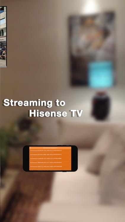 Pro Mirror Cast for Hisense TV