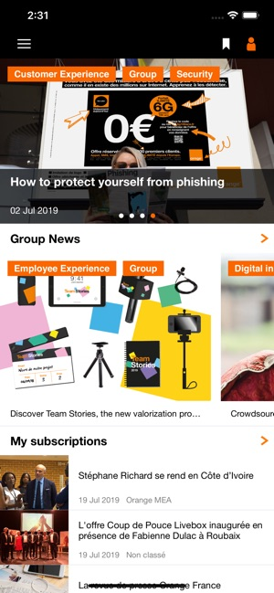 Orange News Group On The App Store