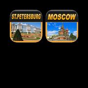 Russia Offline Map Travel Bundle