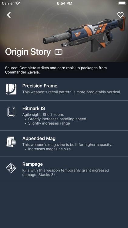 Item Explorer for Destiny 2 screenshot-5