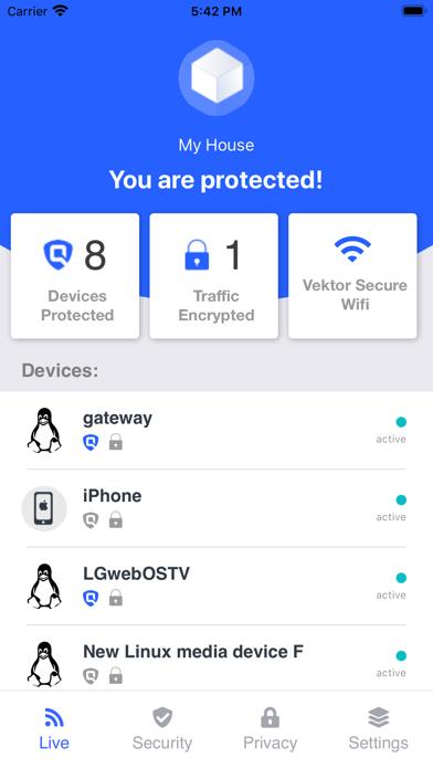 Vektor Security screenshot 2