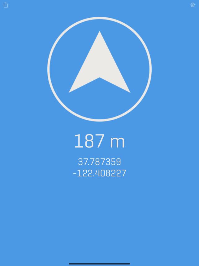 Alti - Altimeter & Compass Screenshot