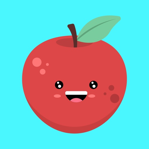 Red apple stickers app
