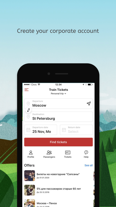 Rail Russia – train tickets