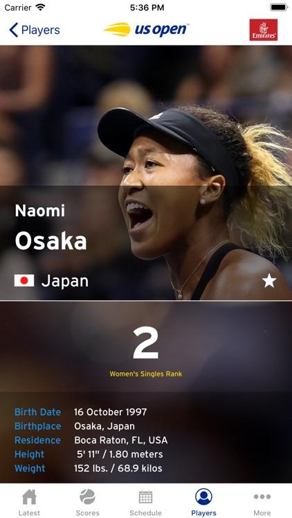 US Open Tennis Championships screenshot-3