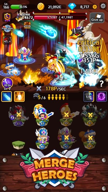 Merge Heroes Frontier screenshot-8
