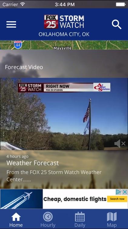 FOX 25 Stormwatch Weather